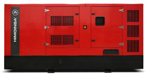 Дизельный генератор Himoinsa HIW-300 T5 в кожухе