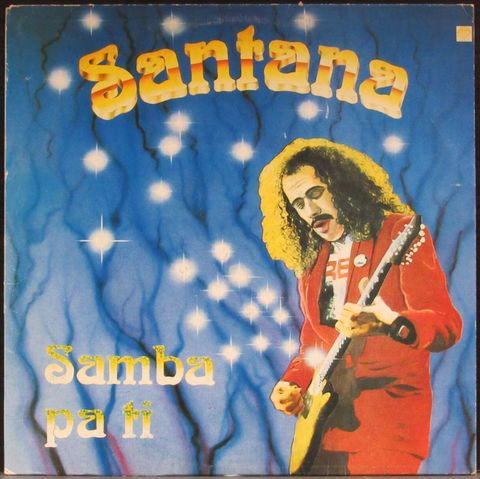 Виниловая пластинка. Santana 