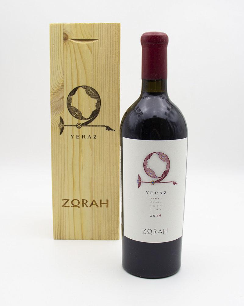 Вино Zorah Ераз Сухое Красное 2016 г.у. 13,5% 0,75 л