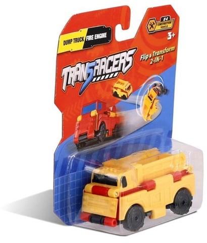 Maşın TransRacers Dump Truck & Fire Engine