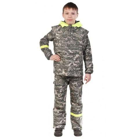 Детский противоэнцефалитный костюм Биостоп®  6-12 лет, зеленый камуфляж