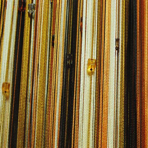 Радуга с кубиками Черная,терракот, оранж,молочная. Ш-300см., В-280см. Арт.109