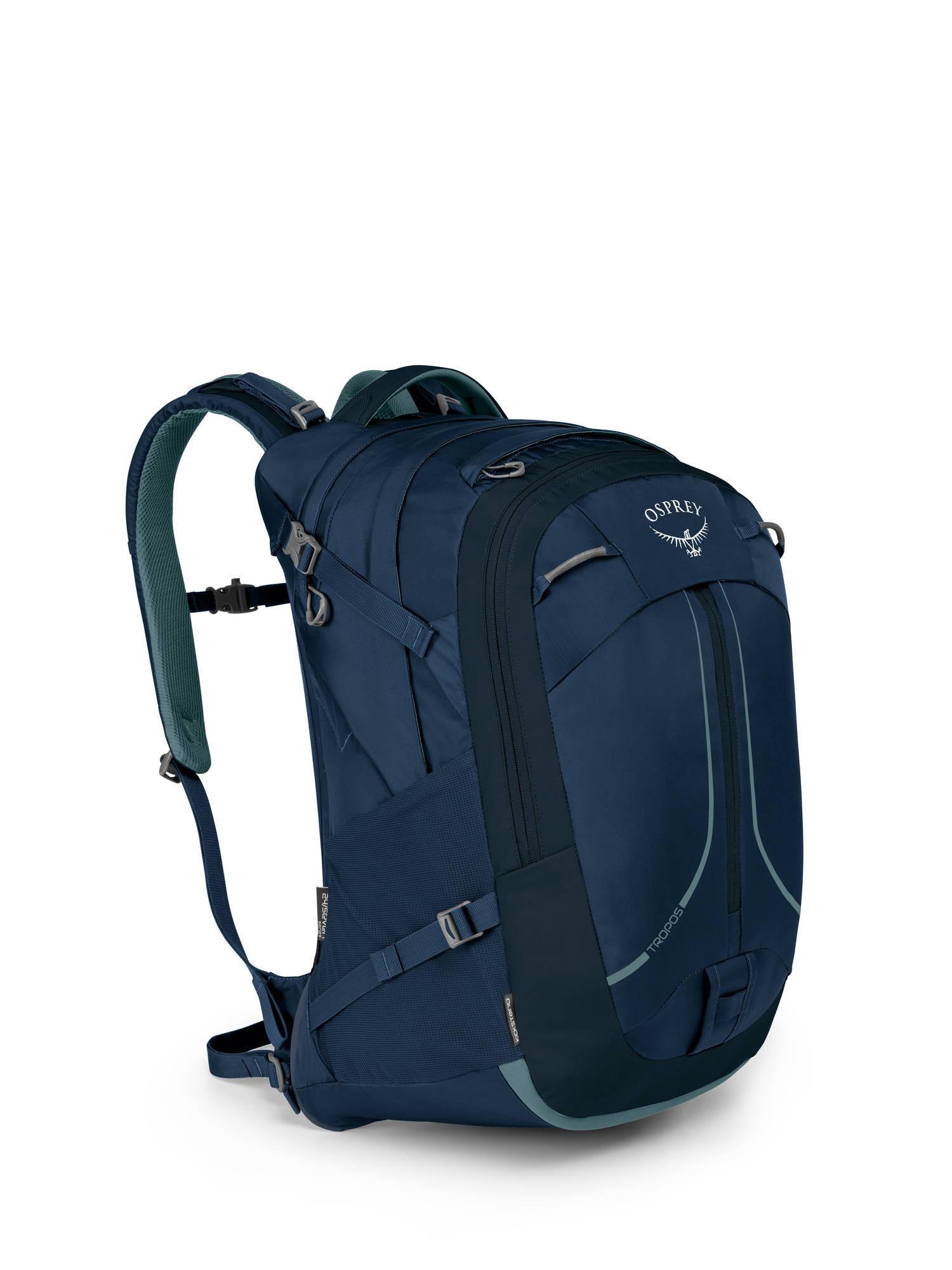 Городские рюкзаки Рюкзак городской Osprey Tropos 32 Navy Blue Tropos_F17_Side_Navy_Blue_web.jpg