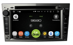 Штатная магнитола на Android 8.0 с DPS для Opel Vectra Roximo CarDroid RD-2801DB