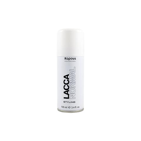 Лак аэрозольный для волос нормальной фиксации  Kapous 100 ml.