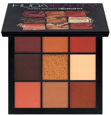 HUDA BEAUTY Obsessions Warm Brown палетка теней
