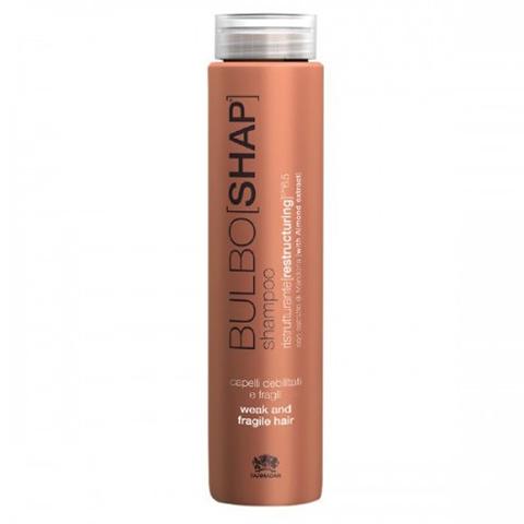 Farmagan Bulboshap: Реструктурирующий шампунь для слабых и тонких волос (Shampoo Weak & Fragile Hair), 250мл