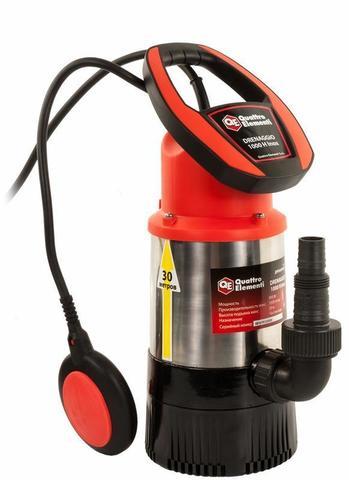 Дренажный насос QUATTRO ELEMENTI Drenaggio 1000 H Inox (900 Вт, 5500 л/ч, для чистой, 30 м (771-756)