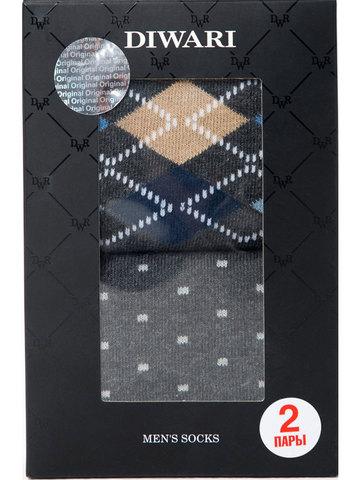 Мужские носки Happy 17С-68СП (2 пары) рис. 718 DiWaRi