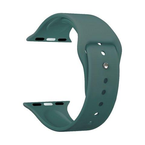 Ремешок силиконовый Deppa Band Silicone D-47133 для Apple Watch 44мм/ 42мм Зеленый