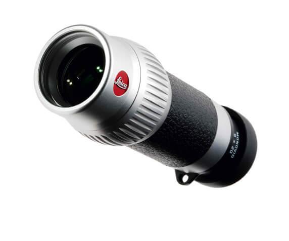 Монокуляр Leica Monovid 8x20, черно-серебристый - фото 1