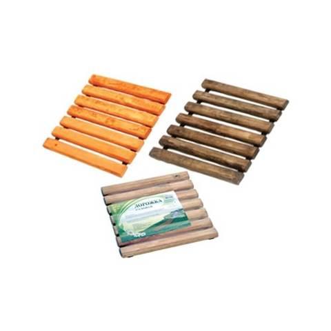 Дорожка садовая деревянная 40х40 см (орегон, светлый)