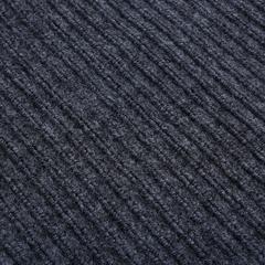 Коврик влаговпитывающий, ребристый, серый, 120*1500 см