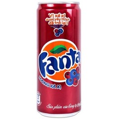 Fanta Xaxi Фанта голубика и смородина 0,330 л