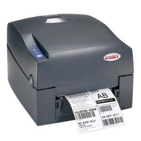 Принтер печати этикеток GODEX G500 (RS-232,USB,Ethernet), (Термо+термотрансферный)