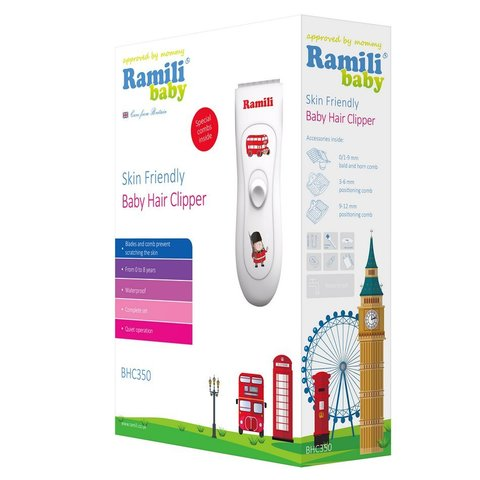 Машинка для стрижки Ramili Baby Hair Clipper BHC350