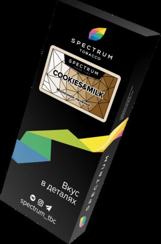 Табак Spectrum Hard Line Cookies & Milk (Печенье с Молоком) 100г