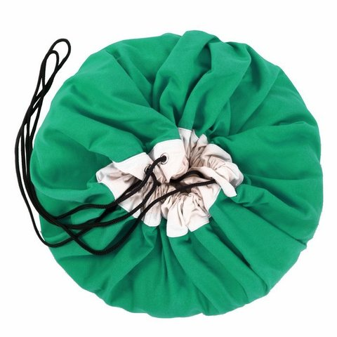 Коврик-мешок для игрушек Play&Go. Коллекция Classic. Зелёный