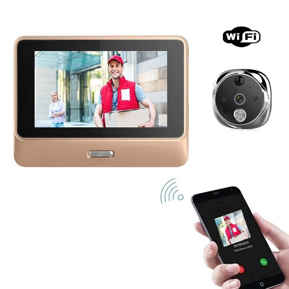 Nutikas Wi-Fi uksesilm – uksekell