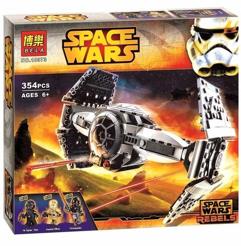 Конструктор Звездные Войны 10373 Улучшенный Прототип Истребителя TIE, 354 дет.