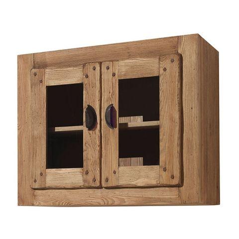 Шкаф навесной застекленный Галвей 80