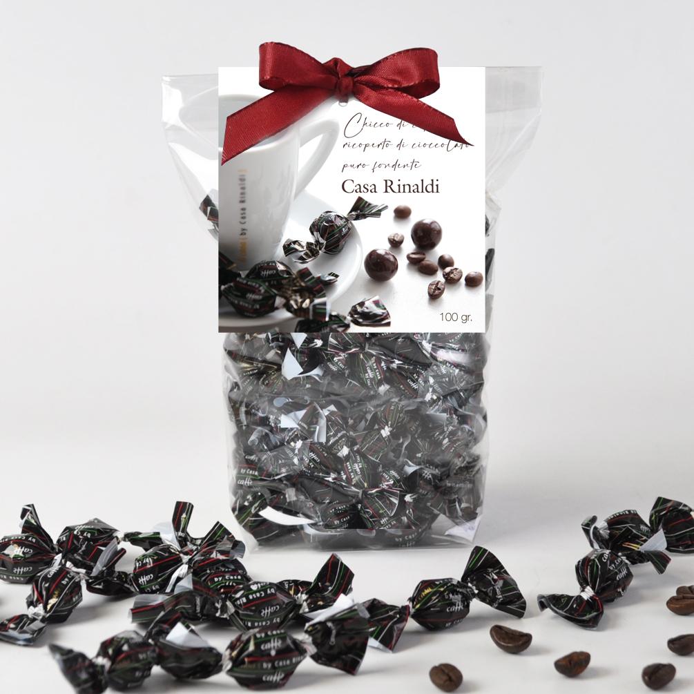 Конфеты Casa Rinaldi драже Кофе в тёмном шоколаде