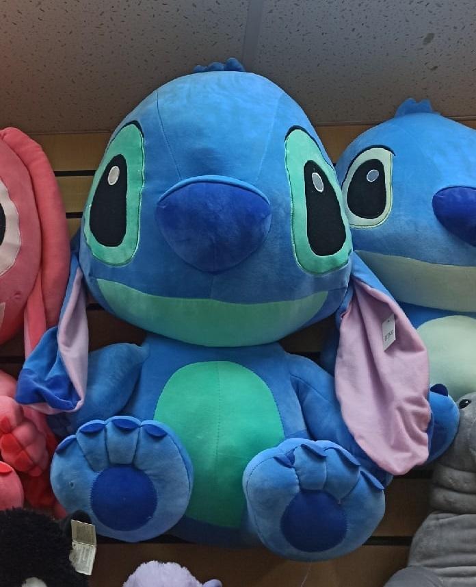 Стич синий 75 см мягкая игрушка