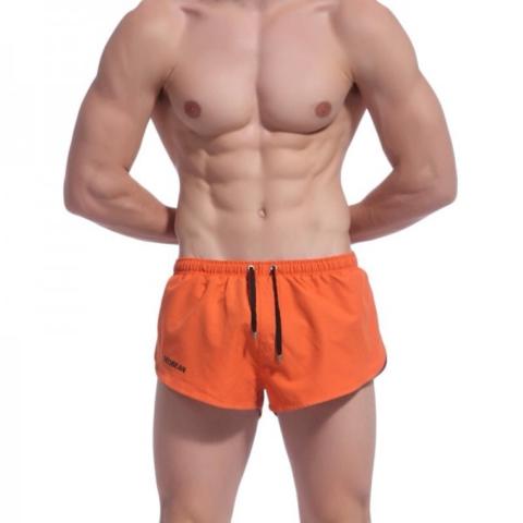 Мужские шорты купальные  оранжевые Seobean Shorts Orange