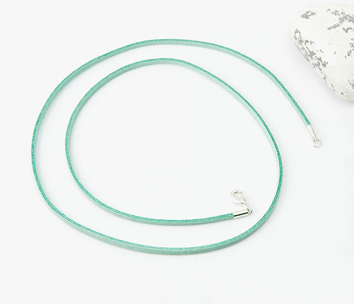 PL284-7 Замшевый шнурок на шею зеленого цвета фото 02