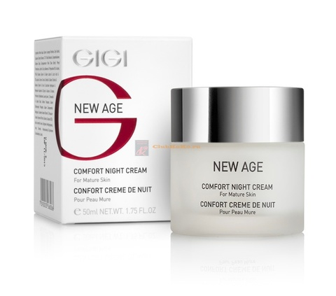 Gigi New Age Comfort Night Cream, Ночной крем-комфорт, 50 мл.