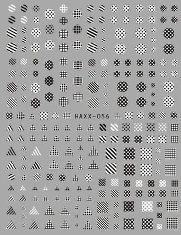 Наклейка силиконовая HAXX-56