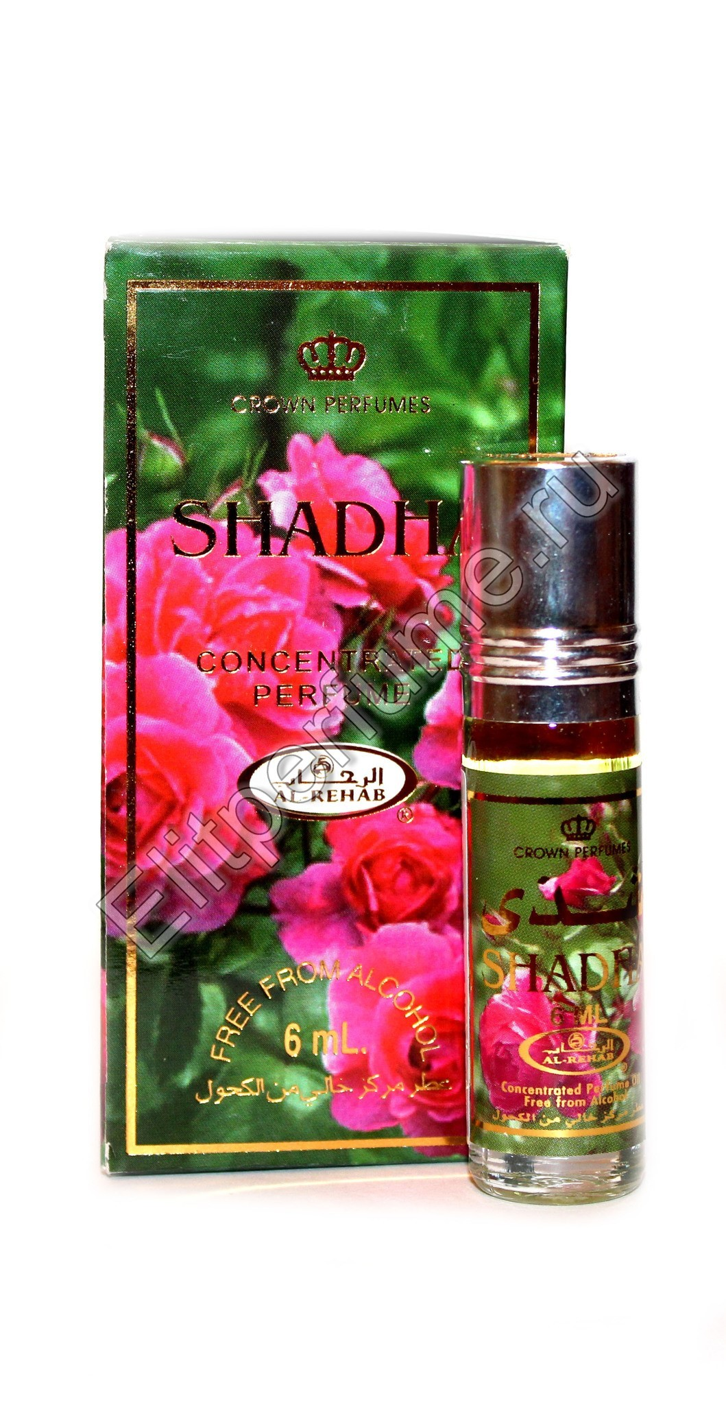 Shadha Шадда 6 мл арабские масляные духи от Аль Рехаб Al Rehab