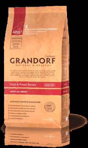 Grandorf Dog All breeds сухой корм для собак всех пород (утка с картофелем) 3 кг