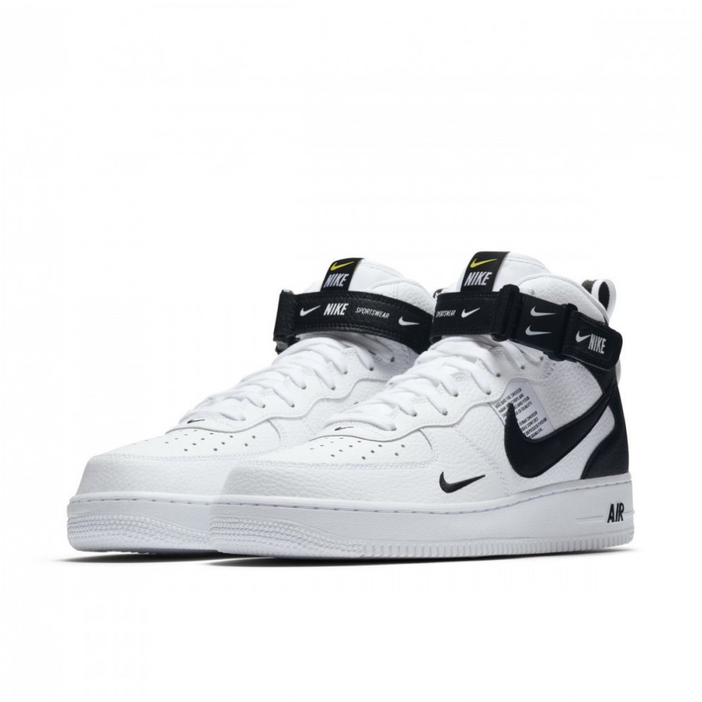 Nike Air Force 1 Mid LV8 White/Black