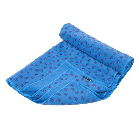 Коврик-полотенце для йоги BF-YT09 173*61 (синий) (38715)
