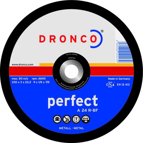 Абразивный отрезной диск Dronco A24R 230x3