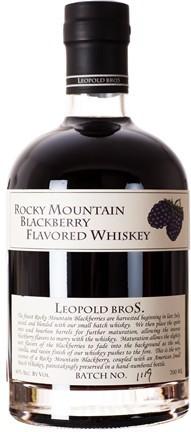 Виски Леопольд Бразерс Роки Маунтин Блекберри Флейворид  с ежевичным сиропом 0,7л