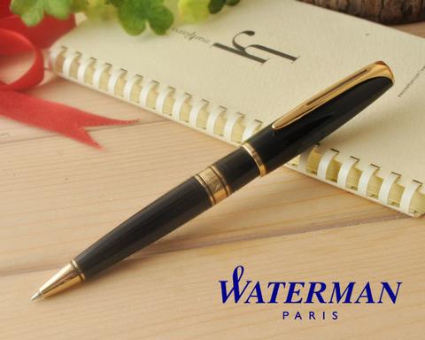 S0701000 Waterman Charleston Ebony Black GT Ручка-роллер