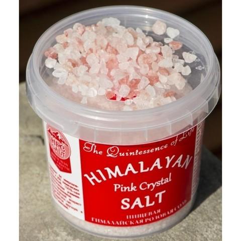 Соль розовая гималайская (пищевая крупного помола 2-5 мм.)