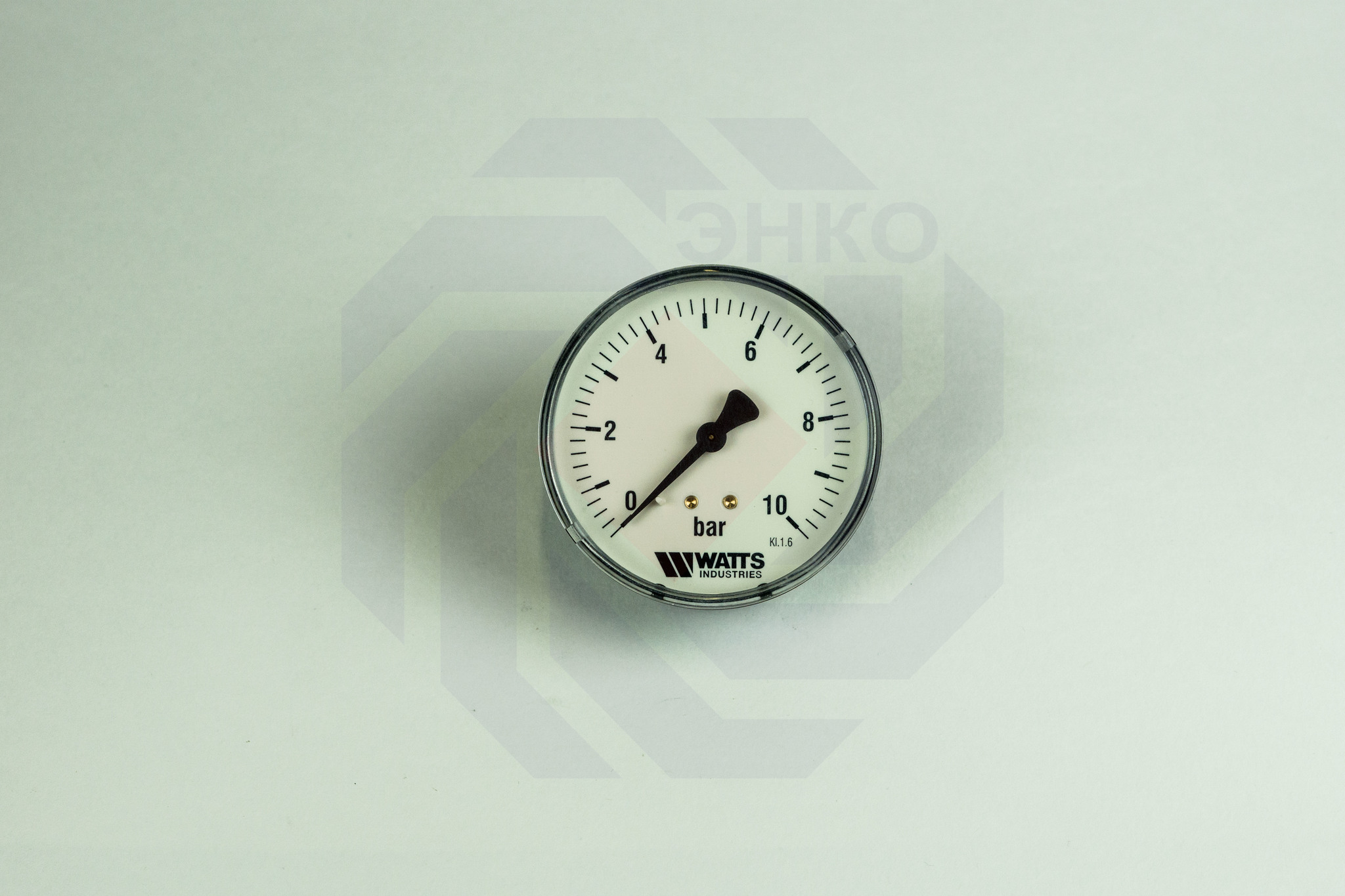 Манометр аксиальный WATTS MDA 80/10 (F+R150) 0-10 бар 80 мм ¼