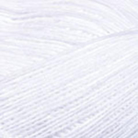 Пряжа Cotton Soft YarnArt 62 Супербелый