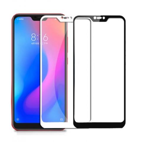 Защитное стекло 3D для Xiaomi A2 Lite (белое/черное)