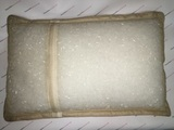 Супер-дышащая подушка с турмалиновым чехлом и наполнителем «трубочки»