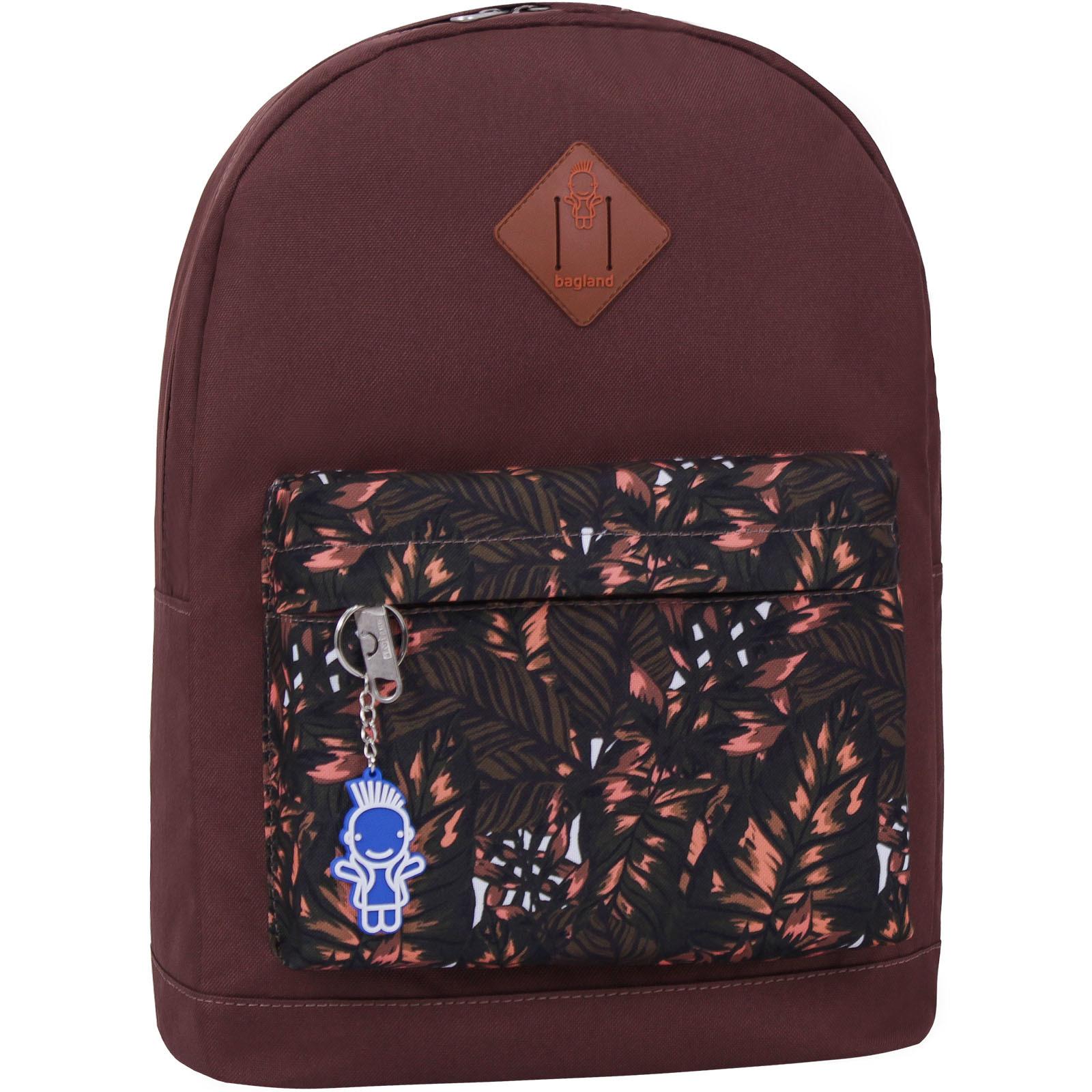 Городские рюкзаки Рюкзак Bagland Молодежный W/R 17 л. коричневый 475 (00533662) IMG_2318_475_1600.jpg