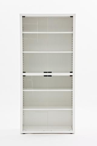 Шкаф-витрина медицинский МЕТ ВАЛЕНТИЯ 2СС , дверки-закаленное стекло - фото
