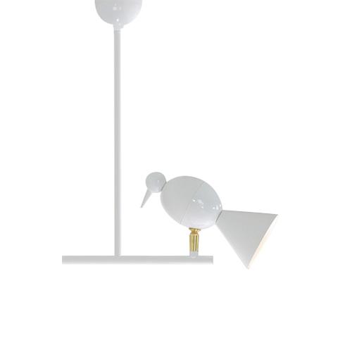 Потолочный светильник копия Alouette by Atelier Areti (белый)