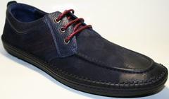 Мокасины со шнурками мужские Luciano Bellini 32011-00