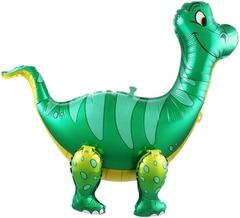 Ходячий шар Динозавр Брахиозавр зеленый