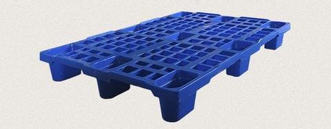 Поддон пластиковый перфорированный 1200x800x150 мм. Цвет: Синий