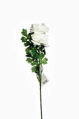 Искусственный цветок Пион белый Garda Decor 8J-13GS004-2